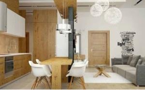 Desain-Ruang-Makan-Modern-Minimalis-An-Apartment-In-Eco-Style