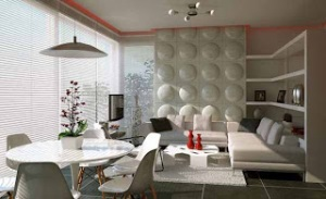 Desain-Ruang-Makan-Modern-Minimalis-Contemporary-Feature-Wall-Treatment